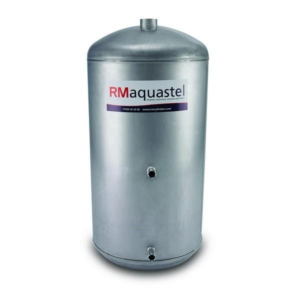 "1500mm x 450mm (60"" x 18"") Aquastel DIRECT Steel Cylinder - Capacity - 214 Litres"